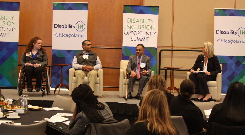 Panel discussion from the 4th Annual Disability Inclusion Opportunity Summit